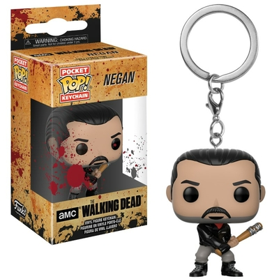 Porte-clés The Walking Dead Funko POP! Negan 4cm