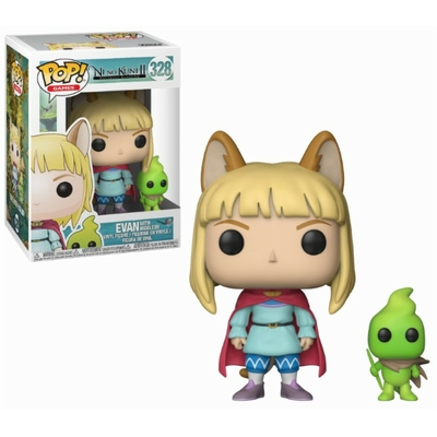 Figurine Ni no Kuni II Revenant Kingdom Funko POP! Evan & Higgledy 9cm