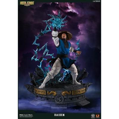 Statue Mortal Kombat Klassic Raiden 58cm