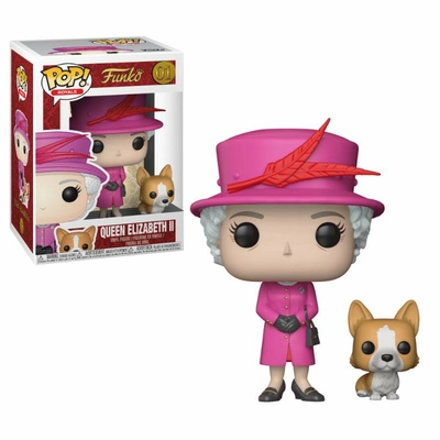 Figurine Royal Family Funko POP! Queen Elizabeth II 9cm