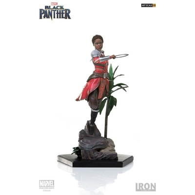 Statuette Black Panther Battle Diorama Series Nakia 22cm