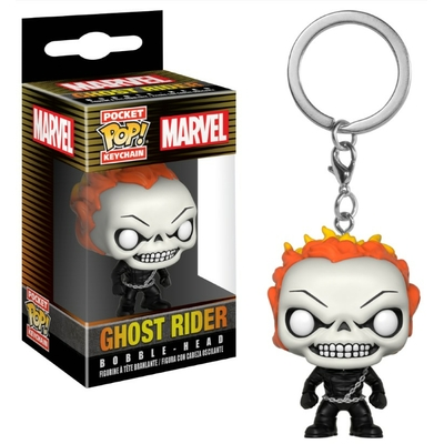 Porte-clés Marvel Comics Pocket POP! Ghost Rider 4cm