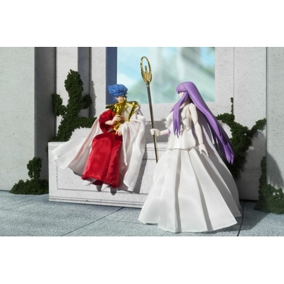 Set Saint Seiya Myth Cloth Athena et Abel 16cm