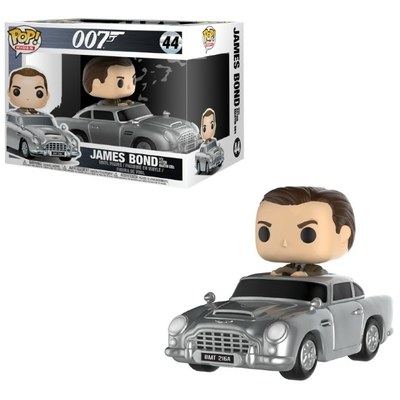 Véhicule James Bond Funko POP! Sean Connery & Aston Martin 15cm