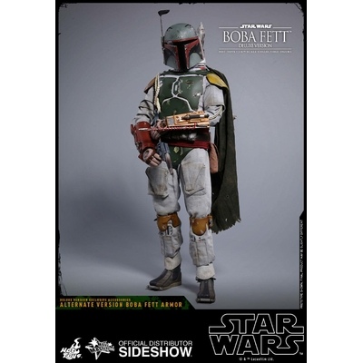 Figurine Star Wars Episode V Movie Masterpiece Boba Fett Deluxe Version 30cm