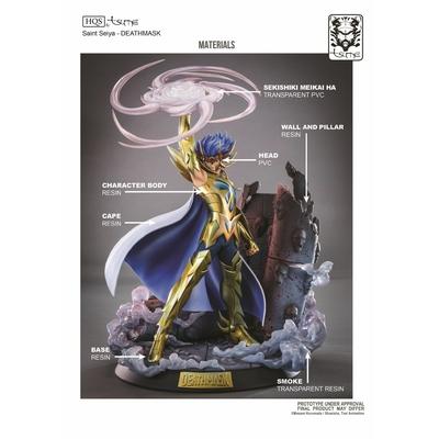 Statue Saint Seiya Deathmask du Cancer HQS by Tsume 45cm 1001 Figurines 14