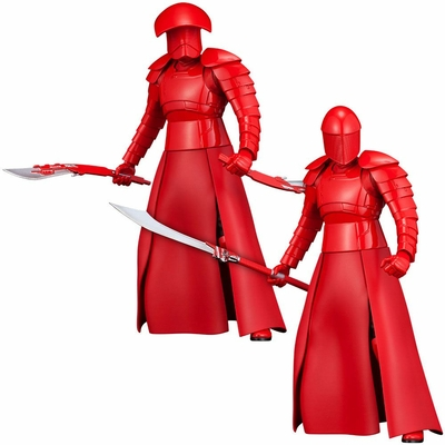 Pack 2 statuettes Star Wars Episode VIII ARTFX+ Elite Praetorian Guards 19cm