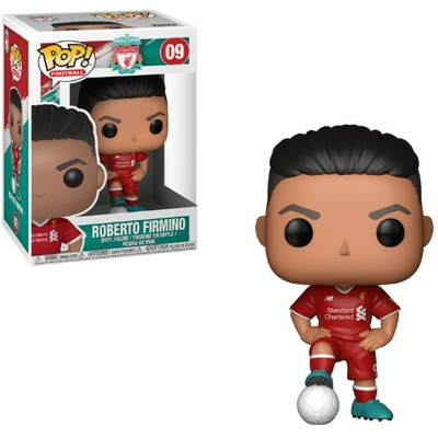Figurine Football Funko POP! Roberto Firmino Liverpool 9cm