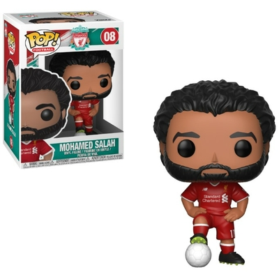 Figurine Football Funko POP! Mohamed Salah Liverpool 9cm