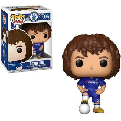 Figurine Football Funko POP! David Luiz Chelsea 9cm