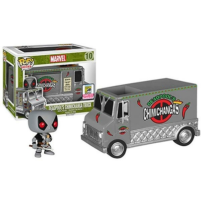 Figurine Deadpool Funko POP! Deadpool X-Force & Chimichanga Truck 15cm