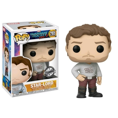 Les Gardiens de la Galaxie 2 POP! Vinyl Bobble Head Star-Lord 9 cm Exclusive