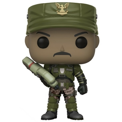 Figurine Halo Funko POP! Sgt. Johnson 9cm