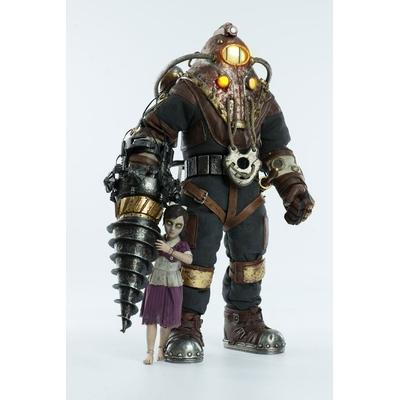 Pack 2 figurines BioShock Subject Delta & Little Sister 33cm