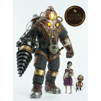 Pack 2 figurines BioShock Subject Delta & Little Sister Deluxe Version 33cm