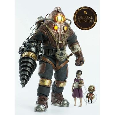 Pack 2 figurines BioShock Subject Delta & Little Sister Deluxe Version 33cm