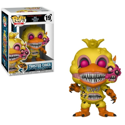 Figurine Five Nights at Freddy's The Twisted Ones Funko POP! Twisted Chica 9cm