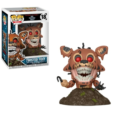 Figurine Five Nights at Freddy's The Twisted Ones Funko POP! Twisted Foxy 9cm