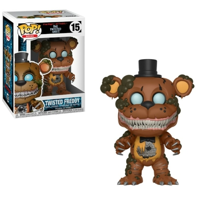 Figurine Five Nights at Freddy's The Twisted Ones Funko POP! Twisted Freddy 9cm