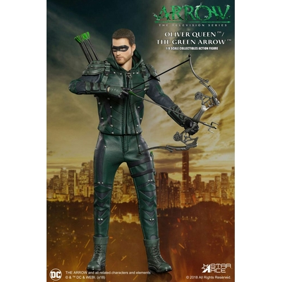 Figurine Arrow Real Master Series Green Arrow Deluxe Version 23cm