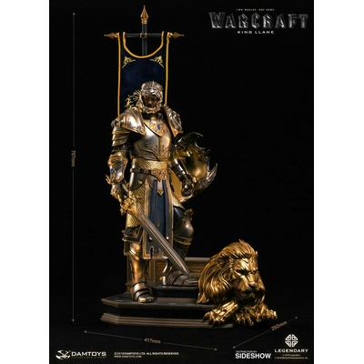 Statue Warcraft Epic Series Premium King Llane 70cm