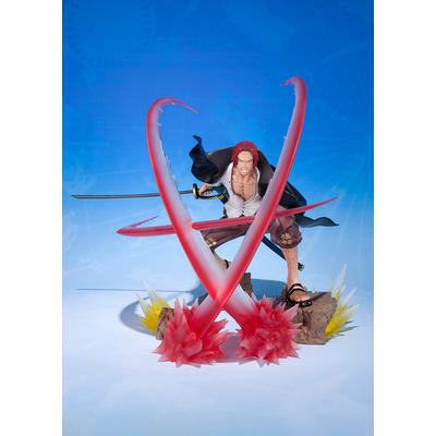 Statuette One Piece Figuarts ZERO Shanks Sovereign Haki 18cm