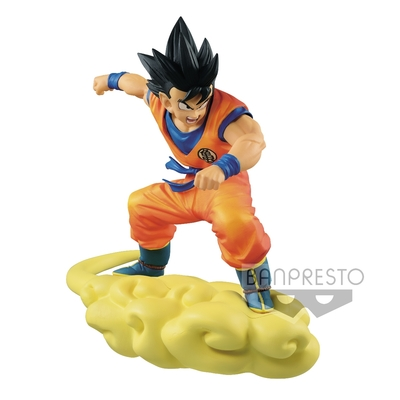Figurine Dragon Ball Z Son Goku on Flying Nimbus 18cm