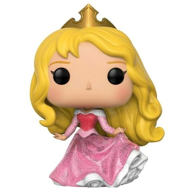 Figurine La Belle au bois dormant Funko POP! Disney Aurora Glitter 9cm Exclusive