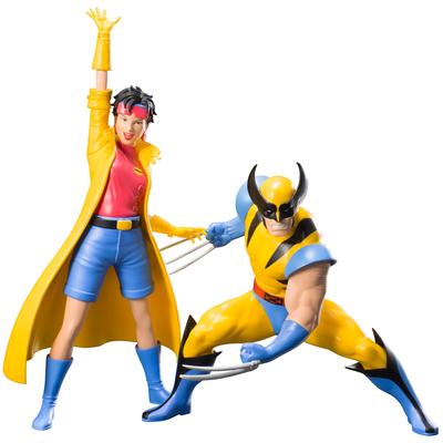 Pack statuettes Marvel Universe ARTFX+ Wolverine & Jubilee X-Men '92 - 16cm