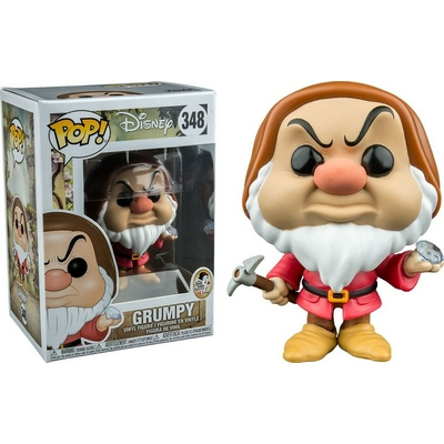 Figurine Blanche Neige et les Sept Nains Funko POP! Disney Grumpy Diamond Pick 9cm Exclusive