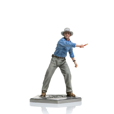 Statuette Jurassic Park Art Scale Alan Grant 19cm