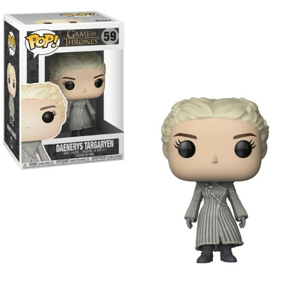 Figurine Game of Thrones Funko POP! Daenerys White Coat 9cm