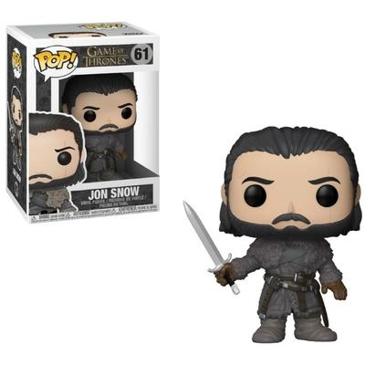 Figurine Game of Thrones Funko POP! Jon Snow Beyond the Wall 9cm