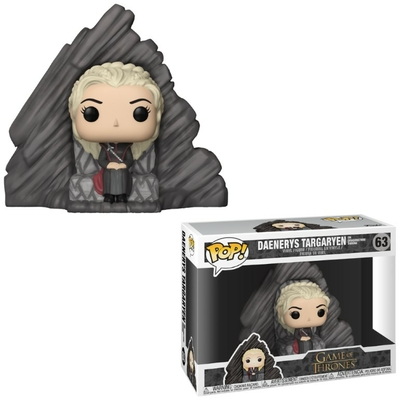 Figurine Game of Thrones Funko POP! Daenerys on Dragonstone Throne 15cm