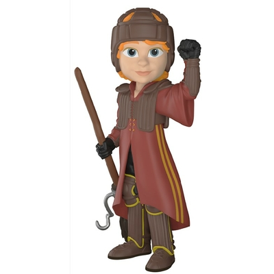 Figurine Harry Potter Funko Rock Candy Ron in Quidditch Uniform 13cm
