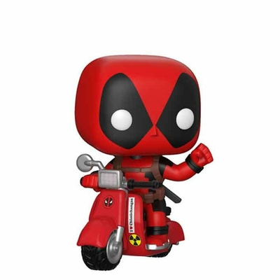Figurine Deadpool Funko POP! Rides Deadpool & Scooter 10cm