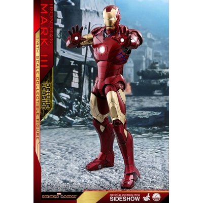 Figurine Iron Man QS Series Iron Man Mark III Deluxe Version 48cm