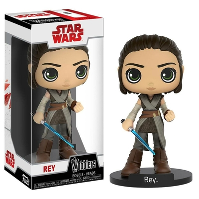 Figurine Star Wars Episode VIII Wacky Wobbler Bobble Head Rey 15cm