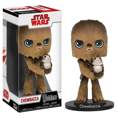 Figurine Star Wars Episode VIII Wacky Wobbler Bobble Head Chewbacca 15cm