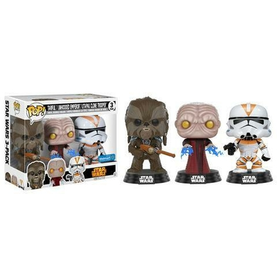 Pack 3 Figurines Star Wars Funko POP! 2017 Fall Convention Exclusive 9cm
