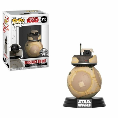Figurine Star Wars Episode VIII Funko POP! Bobble Head Resistance BB Unit 9cm