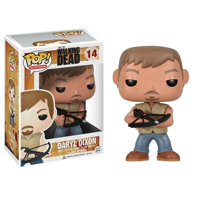 Figurine The Walking Dead Funko POP! Daryl 09cm