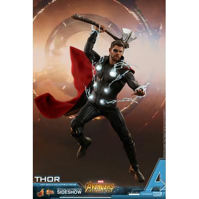 Figurine Avengers Infinity War Movie Masterpiece Thor 32cm