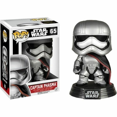 Figurine Star Wars Episode VII Funko POP! Bobble Head Captain Phasma 9cm