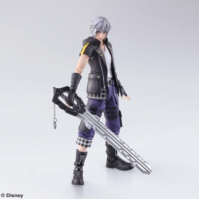 Figurine Kingdom Hearts III Bring Arts Riku 16cm