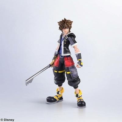 Figurine Kingdom Hearts III Bring Arts Sora Second Form Version 16cm
