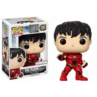 Figurine Justice League Funko POP! Flash Unmasked Exclusive 09cm