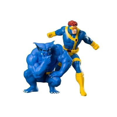 Statuettes Marvel Universe ARTFX+ Cyclops & Beast X-Men92 - 16cm