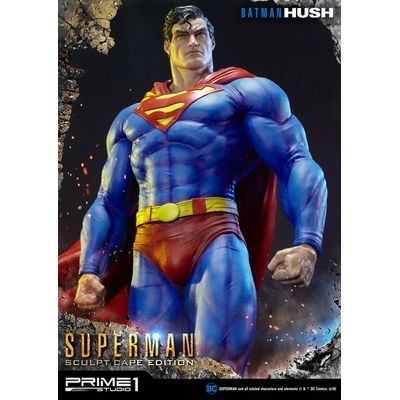 Statue Batman Hush Superman Sculpt Cape Edition 106cm