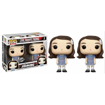 Pack Figurines Shining Funko POP! The Grady Twins 9cm